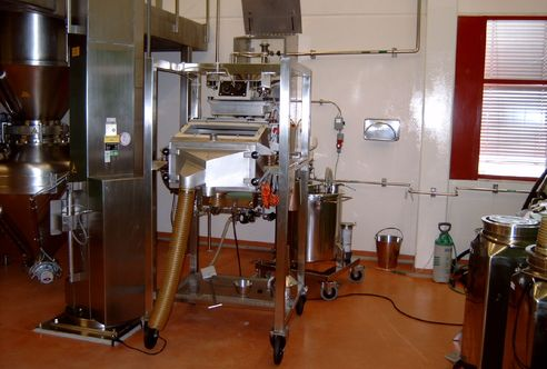 SPS0524 screener, sorting medical granulate